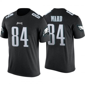 Men's Greg Ward Jr. Philadelphia Eagles Black Color Rush Legend T-Shirt